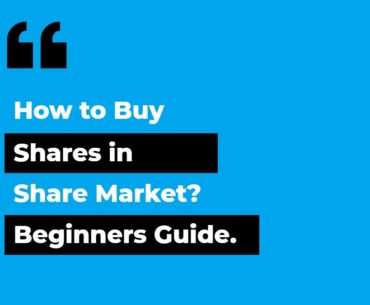 How to Buy Shares in Share Market