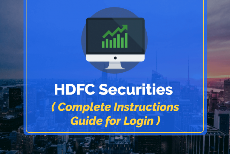 HDFC Securities Login – Complete Instructions for Login