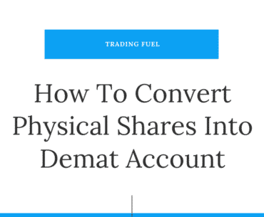 How To Convert Physical Shares Into Demat Account