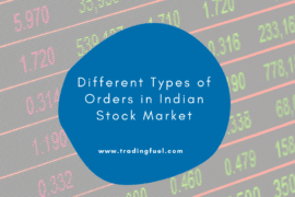 Different Types of Orders in Indian Stock Market